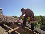 Holzarbeiten Sparrenwechsel